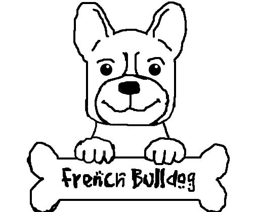 bulldog francês desenho de yrall gartic
