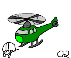 yzJohnny #2 Helicopter