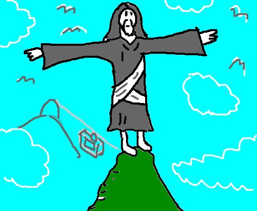 Preferência Cristo Redentor / Corcovado (ZB) - Desenho de ze_buscape - Gartic KQ03