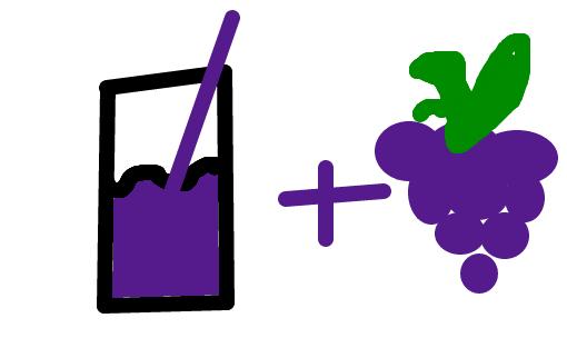 suco de uva bunituh desenho de zecalice gartic